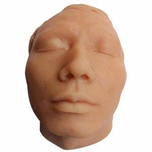 WPY Formation d'injection Mannequin Face Model Injection Pratique De Suture De La Peau Modèle du Visage Aide À L'éducation Médicale