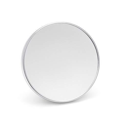 WZP Miroir Maquillage Grossissant 5X avec 3 Ventouses, Miroir Rasage Douche Cosmétique Rond, pour Salle Bain (Size : 8Inch)