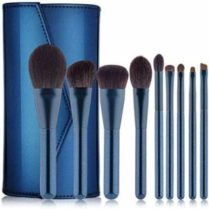 XHDMJ Beauty Tools Maquillage Brush, 9 Professional Makeup Brush Set Premium Synthetic Facial Shadow