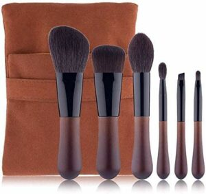 XHDMJ Beauty Tools Maquillage Brush Set, 6 Piece Foundation Concealer Ombre À Paupières Blush Tool
