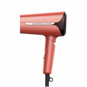 YLXD Sèche Cheveux Professionnel, Infrarouge lointain à Faible rayonnement, Puissant 1200W, Poignée Pliable, 2 Températures, Compact Facile à Transporter