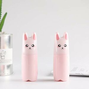 ZXF 36 Pcs/lot 70ml Mini Vider Rose Cartoon Petit Vaporisateur for Le Maquillage et la Peau Soins Outils de Bouteilles rechargées Bouteilles Voyage (Color : Pink)