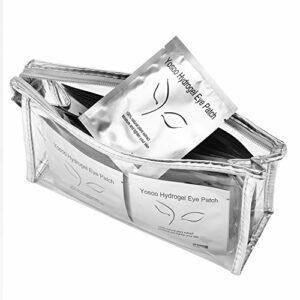 100 paires de patchs pour extension de cils tampons oculaires patchs en papier embouts pour oeil greffés enveloppent des outils de maquillage
