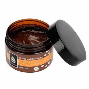 120 g Gel exfoliant au café Crème exfoliante au café pour le visage Visage Main pieds Remover Peaux mortes Hydratant Lissant Nettoyer les pores