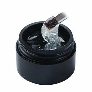 2019 Gel de réparation pour les ongles fissurés, Gel réparateur pour Ongles Fissuré, Renforce la durée de vie inoffensive pour les ongles cassés en acrylique UV