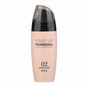 50 ml crème de maquillage hydratante dissimulante longue crème de maquillage hydratante hydratante dissimulant longue durée crème de maquillage éclaircissante pour la peau du visage(Naturel)