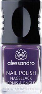 alessandro Vernis à Ongles 145 Dark Violet, 10 ml