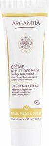 ARGANDIA Crème Beauté des Pieds Menthe – 30ml