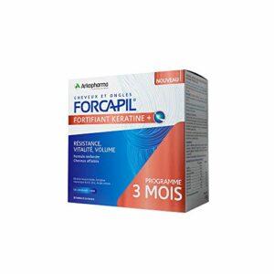 Arkopharma – Fortifiant Kératine 180 gélules Forcapil Cheveux et ongles Arkopharma