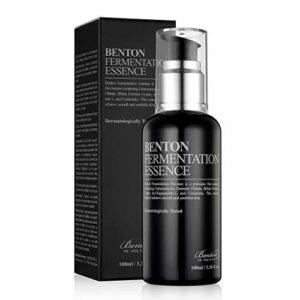 BENTON Essence de fermentation 100 ml (3,38 oz liq.) – Filtrate de fermentation Galactomyces & Essence raffermissante et revitalisante pour la peau Bifida, anti-rides, hydratante