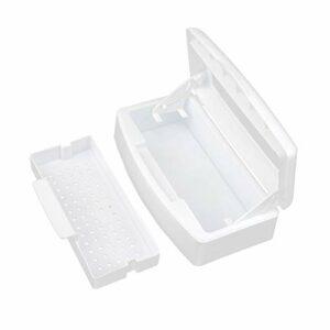 Boîte de rangement pour stérilisateur et désinfection des ongles