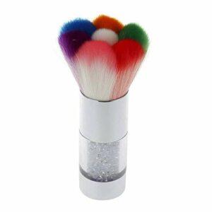 Brosse de maquillage Set Design de mode coloré Nail Art Démaquillant de Brosse Cleaner for Acrylique & UV Gel De Ongles Poudre Strass Maquillage Fondation Brosse Outil Brosses Cosmétiques Set Brosses
