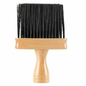 Camidy Visage Plumeau pour Coupe de Cheveux Brosse de Coiffure Plumeau pour Coiffeurs Brosse de Nettoyage de Cheveux pour Salon de Coiffure