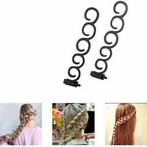 CCJW Coiffure Set, Mode Hair Design Outils de Cheveux Accessoires Cheveux Bricolage Accessoires Cheveux Modeling Tool Kit Hairdress Kit Magic Set Simple Rapide Spiral kshu