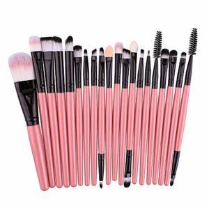 Cebbay Pinceaux Maquillage Cosmétique Professionnel Laine Font 20pcs Set/Kit Cosmétique Brush Beauté Maquillage Brosse Makeup Brushes Cosmétique Fondation