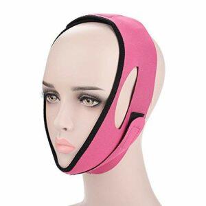 Ceinture de levage du visage, masque amincissant pour le visage, masque V Line Double menton Remover V Line Formes de visage Menton Joue Lifting Facial Minceur Bandage de levage Convient(3#)