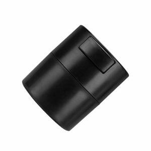 Colle Conteneur Cils Extensions adhésif pot de colle Leakproof de réservoir de stockage des boîtes scellées Cils Fournitures Kit d'extension Jar réservoir étanche Leakproof Container Noir