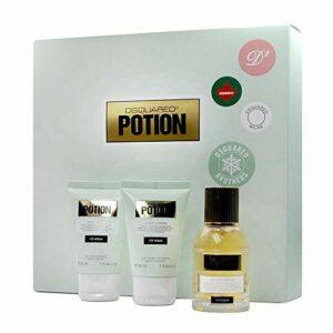 Dsquared Potion Coffret cadeau avec eau de parfum 30ml/gel douche 30ml/lotion pour le corps 30ml