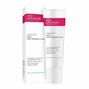 Eau Précieuse – Clearskin SOIN ANTI-IMPERFECTIONS 50ml – Soin Visage Anti-imperfections Rééquilibrant Matifiant – Peaux à tendance acnéique