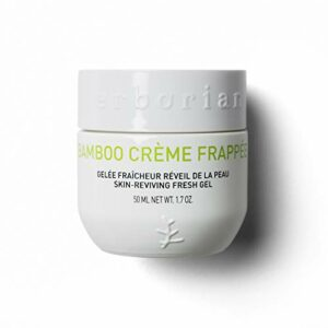 Erborian – Bamboo Crème Frappée – Crème de Jour Tonifiante – Gelée Fraîcheur Réveil de la Peau – Soin de la Peau Coréen – 50ml