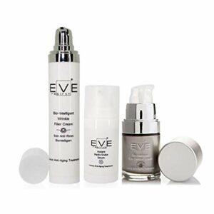 EVE REBIRTH Kit : Hyalu-Snake Sérum, 15 ml + Soin Anti-Rides Bio-Intelligent, 50 ml + Soin Anti-Rides Yeux Bio-Intelligent, 15 ml
