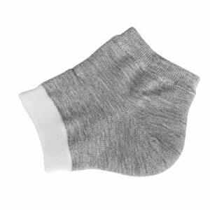 gants de soin de spa 2 paires unisexe talon gel chaussettes hydratant spa chaussette pied protecteur outils de soins de la peau exfoliant lisse anti sec fissuré