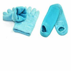 gants de soin de spa Gants et chaussettes en gel de silicium blanchissent la peau hydratante traitement spa gant chaussette hydratent adoucissent les soins de la peau pour les femmes cadeau