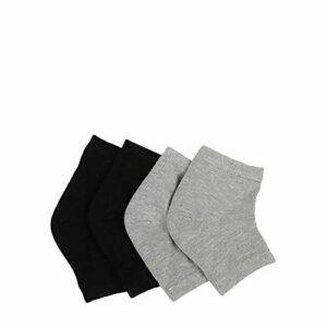 gants de soin de spa Nouvelles 2 Paires Pro Heel Socks Hydratant Gel Spa Chaussettes Pour Cracked Foot Dry Skin Care Protector Whitening Outil de beauté exfoliante