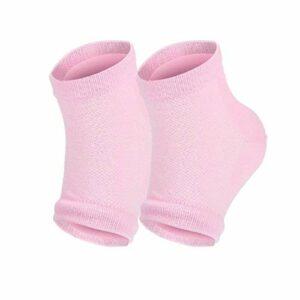 gants de soin de spa Vente chaude Silicone Hydratant Gel Talon Chaussettes Fissuré Sec Pieds Soins De La Peau Protecteurs Chaussette 2 paire / 4 pcs