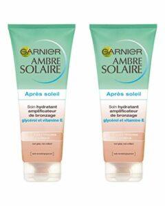 Garnier Ambre Solaire Après Soleil Soin Hydratant Amplificateur de Bronzage – Lot de 2