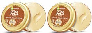 Garnier Ultra Doux Corps Beurre Réparateur Peaux extra sèches Trésors de Miel 200 ml – Lot de 2