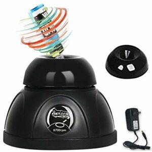 GPWDSN Bouteilles de Shaker d'encre pour Vernis à Ongles Mini mélangeur 8700 TR/Min Vortex Shaker, pour adhésifs pour Cils, peintures, pigments de Maquillage permanents, peintures acryliques