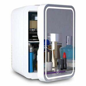 GYMO Mini-Réfrigérateur Cosmétique/Réfrigérateur De Beauté Portable, Refroidisseur Silencieux Et Radiateur, pour Chambre De Bureau Cosmétique Et De Soin De La Peau