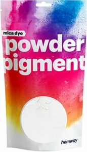Hemway – Pigment à base de poudre de mica/oxyde de fer – pour produits cosmétiques/savon/bombe de bain/fard à paupière/fond de teint/nail art – brillant/nacré