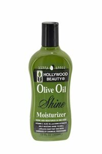 Hollywood Beauty Huile d'Olive humide et Brillance hydratante Cheveux Lotion, 340,2gram