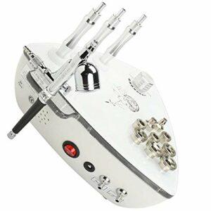 HSART Beauté Diamant Microdermabrasion Dermabrasion Machine, d'eau Vide D'aspiration Gommage Massage Visage 3 en 1 Dermabrasion Machine avec Pistolet