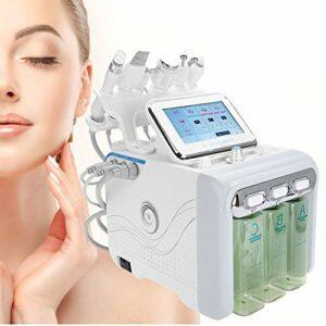 Jadpes 𝐂𝐡𝐫𝐢𝐬𝐭𝐦𝐚𝐬 𝐂𝐚𝐫𝐧𝐢𝒗𝐚𝐥 Machine de beauté à oxygène d'hydrogène, Machine de beauté 6 en 1 Machine de Nettoyage en Profondeur de l'instrument de rajeunissement de la Peau(UE: 220V)