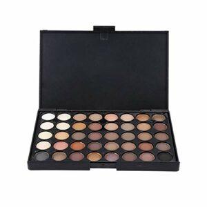 JSNRY Pro Matte Palette de fard à paupières Shimmer femmes Presses Glitter Ombre à paupières pigment Maquillage de fard à paupières Beau (Color : E401)