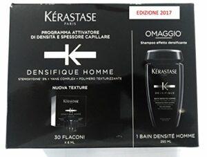 Kerastase – Densifique Homme – Bain + ampoules pour densité capillaire
