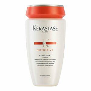 Kerastase Nutritive Bain satin 1, 250ml – shampooing pour cheveux normaux ou secs