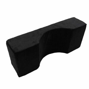 Lash oreiller cou U Cils Forme Extension du support de courbe ergonomique souple en mousse à mémoire noire pour adultes Accueil Neck Pain Beauty Supply