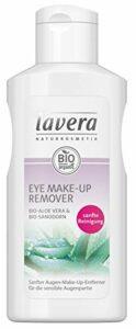 lavera Eye Make-Up Remover ∙ Démaquillant pour les yeux ∙ Adapté aux peaux sensibles ∙ Aloe Vera ∙ Vegan Cosmétiques naturels Make up Ingrédients végétaux bio 100% Naturel Maquillage (125 ml)