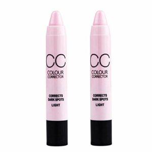 Lecimo Soins Du Visage Maquillage Maquillage CosméTique Crayon Correcteur Crayon BâTon Palette De Camouflage Pour La Tache De Cercle Noir Et Acnepaleta, 2#