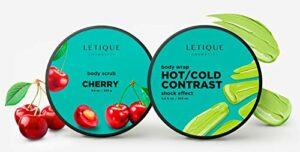 LETIQUE Cosmetics Contrast Set de maquillage 250 g 200 ml