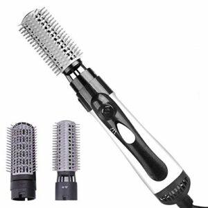 LJJYF Sèche-Cheveux multifonctionnels 2 et 1 et Peignes à anions Sèche-Cheveux pour réduire Les frisottis et l'électricité Statique sur Tous Les Types de Cheveux-US_110v