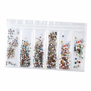 MERIGLARE Strass Diamant Brillant Pour Ongles, Lèvres, Yeux, Bricolage 3D