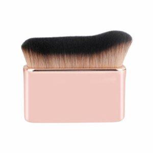 Minkissy Maquillage Fond de Teint Pinceau Visage Kabuki Brosse Professionnel Cosmétique Corps Brosse pour Poudre Crème Lotion