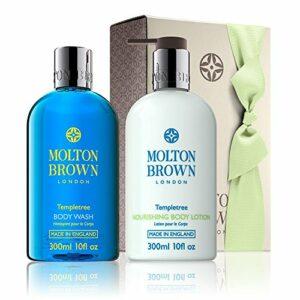 Molton Brown Templetree Gel Douche et Lotion Set cadeau
