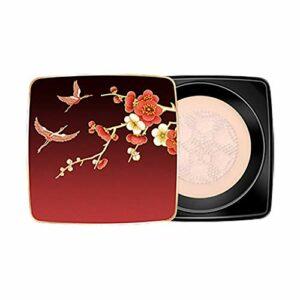 Mushroom Air Cushion CC Cream Bb Cream Base de tête de champignon avec éponge pour rétrécir les pores, illuminer le teint de la peau – Air Cushion Mushroom Head Correcteur Maquillage Hydratant