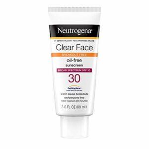Neutrogena Lotion écran solaire liquide pour le visage et le corps – SPF 30 – Formule hydrofuge légère non grasse – Protection à large spectre contre les rayons UV – 89 ml